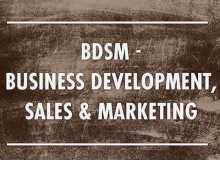 BDSM - Business development, Sales & Marketing